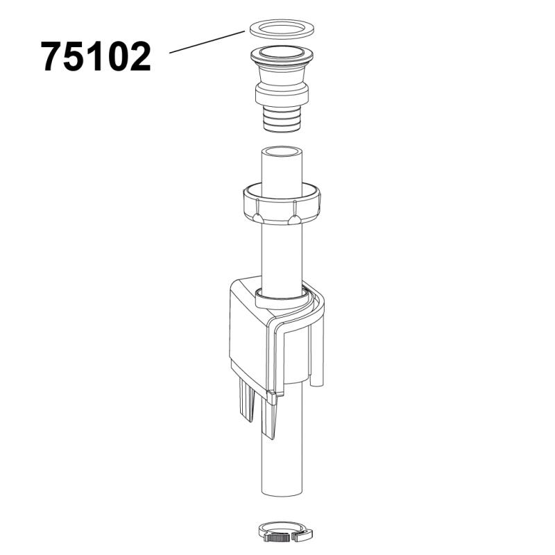 - - Check valve flat joint - CICLON