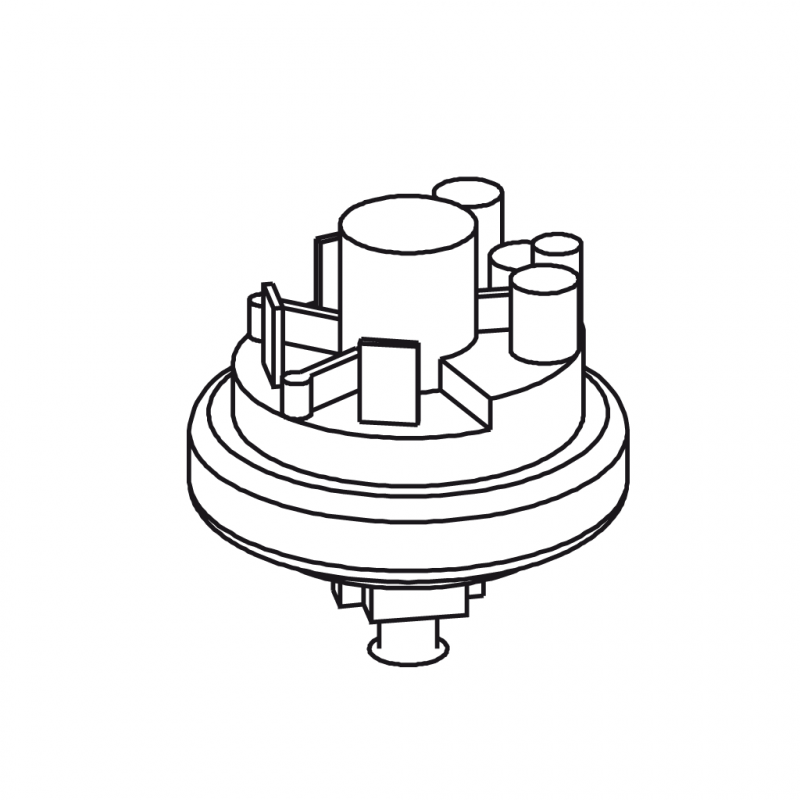 - - Threaded pressure switch - CICLON